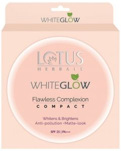 Lotus Herbals WhiteGlow Flawless Complexion Compact WG C1 Compact
