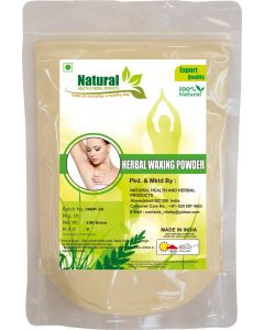 Natural Health and Herbal Products Herbal Wax Powder Instant Hair Remover (100 g) Wax  (100 g)