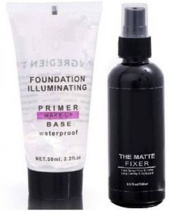 Komet MAKEUP BASE PRIMER WITH MAKEUP FIXER Primer - 150 ml (TRANSPARENT) Primer - 150 ml  (transparent)