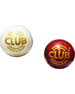 Club Cricket Leather Ball  (Pack of 2, Multicolor)