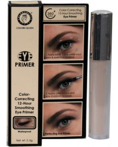 Colors Queen Color Correcting 12-Hour Smoothing eye Primer - 2.3 ml  (skin color) 2.88 Ratings & 2 Reviews