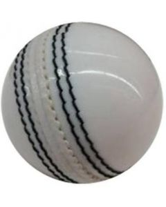 White leather ball pack of one Cricket Leather Ball  (Pack of 1, White)