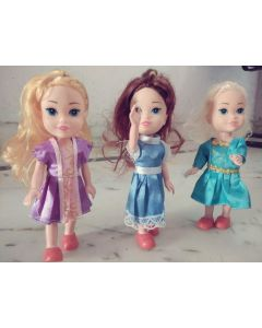 3 Sisters Soft Toys for Kids.Random Colour Pack of 3