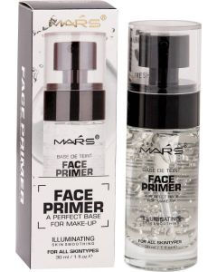 Mars 5 Function Make-up Base Face Primer - 30 ml  (Transprent)