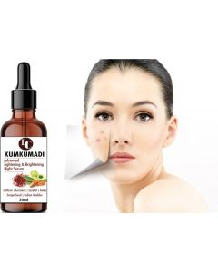 INDO CHALLENGE Kumkumadi Oil for Glowing, Spotless Lightning & Brightening Night serum  (30 ml)