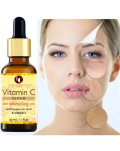 INDO CHALLENGE Vitamin C & Vitamin E Serum For Radiant & Brightening Skin  (30 ml)