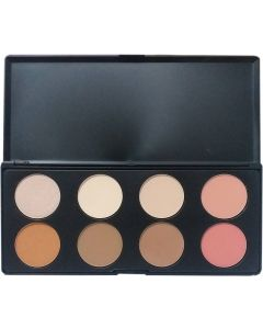 Maliao Max and More Foundation Contour Blusher Highlighter 4 in 1 Palette