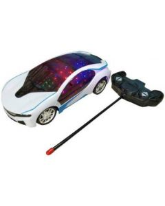 3d Fast Modern Car with Remote Control