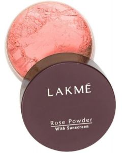 Lakme Rose Face Powder Compact  (Warm Pink, 40 g)