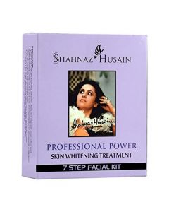 Shahnaz Husain 7 Step Skin Whitening Treatment Facial Kit, 63g