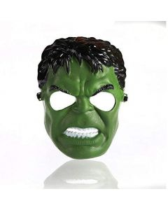 Superhero Hulk Mask for Kids & Adults Costume Cosplay Party Gift Dress (Green)