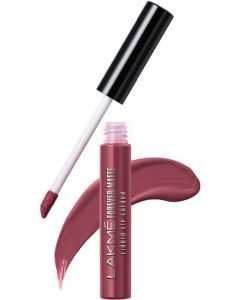 Lakme Forever Matte Liquid Lip Colour -  (Nude Pink, 5.6 ml)#JustHere