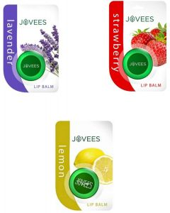 Jovees Lip Balm-Lavender & Strawberry & Lemon. Lavender, Strawberry, Lemon