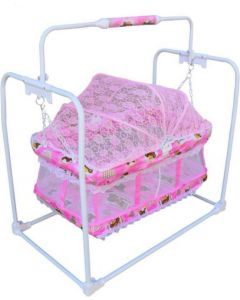 Stylish swing with mosquito net for new born