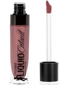 Wet n Wild MegaLast Liquid Catsuit Matte Lipstick  (Rebel Rose, 6 g)