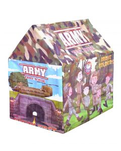 Little Toys Kids Army Color Play Tent House for Unisex Children