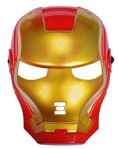 Superhero Iron Man mask for Kids & Adults Costume Cosplay Party Gift Dress (red)