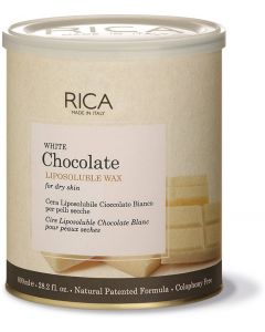 Rica White Chocolate Wax Wax  (800 ml)
