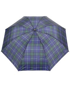 Fab season unisex checks printed umbrellas