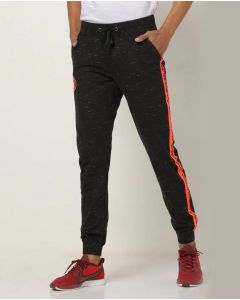 Printed Men Black Jogger Pant