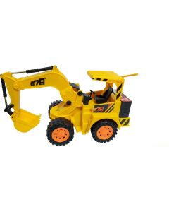 Cheetah Truck 678 JCB Machine  (Yellow)
