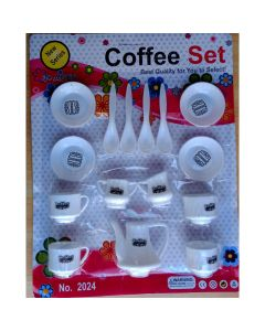 Coffee Set Party Pretend Play Set for Kids Toddler, Kids, Children, Kitchen Set for Kids Boys & Girls