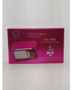 Colors Queen MatteMagique All In One Transforming POWER Flawless Ultra-Fine Coverage Compact  (Natural, 15 g)