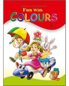 colouring books for kids-Theme Colouring Book