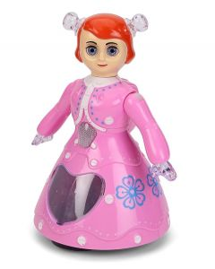 MWT TOYZ Dancing Doll Toy for Kids with Music & Lights (Princess Doll)