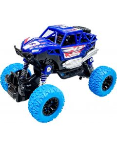 Toy Shack Toyshack Pull Back Rock Crawler Off Road Truck Die Cast Vehicle with Rubber Wheels for Kids  (Blue)