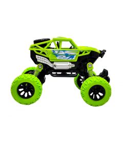 Toy Shack Toyshack Pull Back Rock Crawler Off Road Truck Die Cast Vehicle with Rubber Wheels for Kids  (Green)