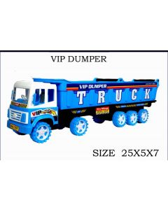 Vip Dumper Truck for KIds White and Blue combination