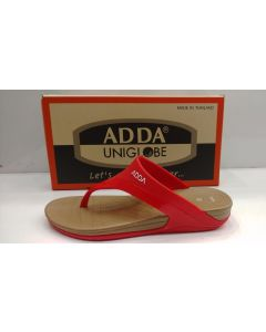 ADDA Stylish & Comfortable Flipflops/Sandals for Women/Girl red