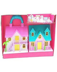 Big Size Funny House Play Set Doll House Toy for Girls |Kids (Multi-Color).