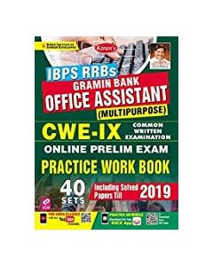 IBPS RRB'S GRAMIN BANK OFFICE ASSISTANT PRACTICE WORK BOOK