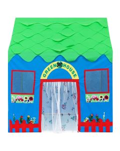 Green house play tent house for kids upto 2 children space inside it