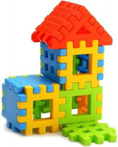 Nabhya Happy Home PVC Packing Building Blocks Early Learning Educational Toy For Kids Age 2 To 5  (Multicolor)
