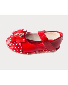 Girls Kid Bellies Butterfly - Red