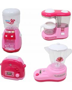 Kitchen Toy Set Household Appliance Kitchen Play Set Pretend Food Play for Girls
