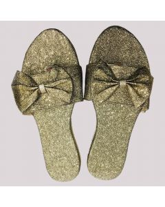 Women Golden Flip-Flop