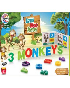 PREM RATNA TOYS LETTER WORD PICTURE Educational Board Games Board Game