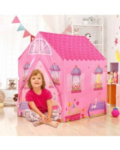 Jumbo Size Extremely Light Weight , Water Proof Kids Play Tent House for 10 Year Old Girls and Boys (Doll House Tent)
