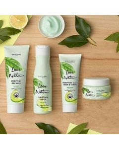 Oriflame Sweden Love Nature Purifying set  (4 Items in the set)