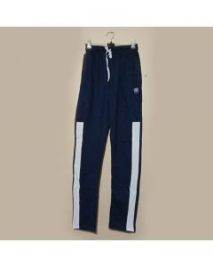 Blue, White Belt Track Pant
