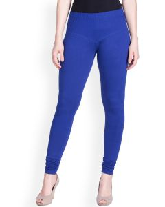 Blue Churidar Leggings