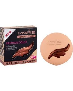 Mars 2in1 Fashion color Compact Powder Compact  (Beige, 26 g)