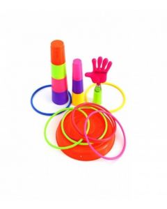 Mini Series Ring Quoits Throw Game Kids Toy  (Multicolor)