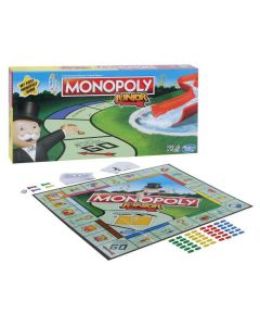 Monopoly Junior Board Game For Kids Ages 5 and Up, Great Introduction to the Game