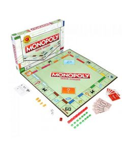 Monopoly Indian Edition Board Game for Families and Kid Ages 8 and Up
