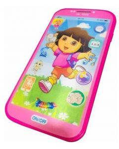 My First Touch Screen Mobile with Light and Sound Effect (Multicolor)